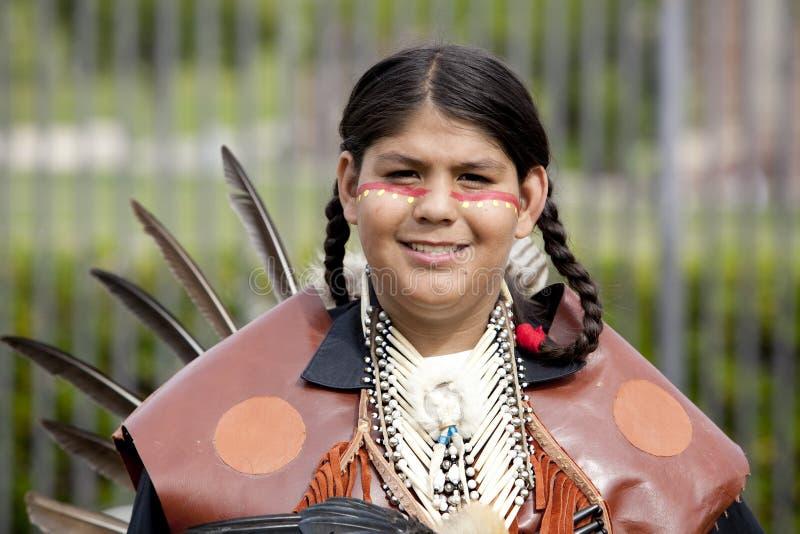 Indiano americano a distorsione di velocità del prigioniero di guerra del UCLA fotografie stock