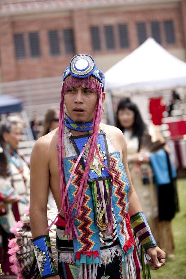 Indiano americano a distorsione di velocità del prigioniero di guerra del UCLA immagine stock