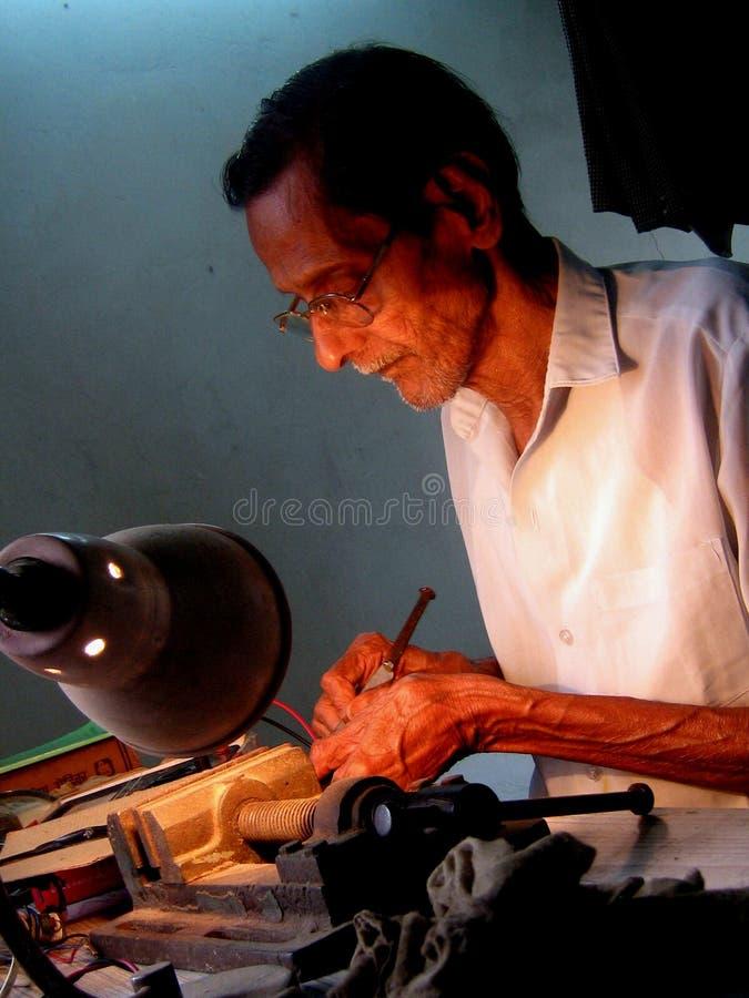 Indiano anziano immagine stock libera da diritti
