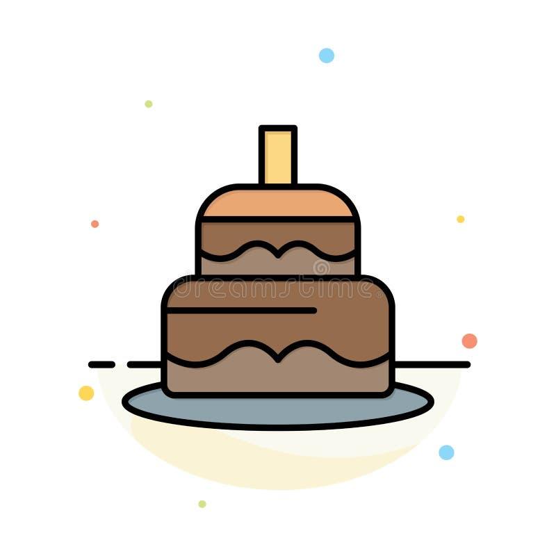 Indiano, bolo, dia, molde liso do ícone da cor do sumário do país ilustração royalty free