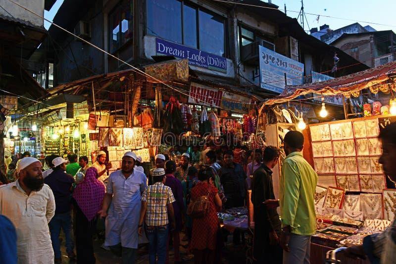 Indiano Market Place fotografie stock libere da diritti