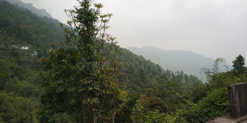 INDIANO ORIENTALE DEL NORD MOUNTAIN VIEW fotografie stock libere da diritti