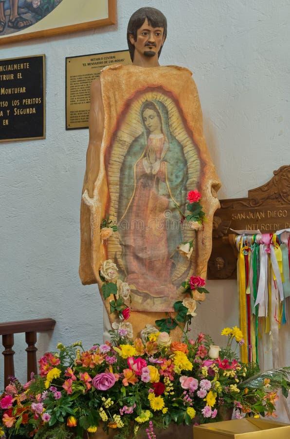 Indians Chapel at La Villa de Guadalupe, Mexico City. Mexico City, Mexico - December 12, 2016: Indians Chapel at La Villa de Guadalupe, Mexico City stock photography