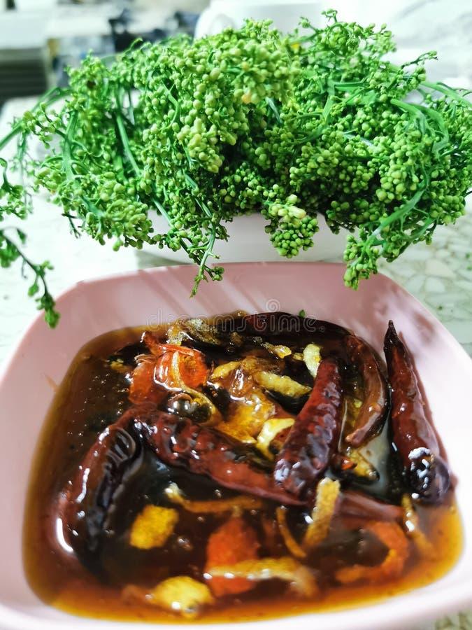 Indica lub siam Nim gorzkie warzywa ziołowe Thai lokalne tradycyjne medycyna i żywność jeść zdjęcia royalty free