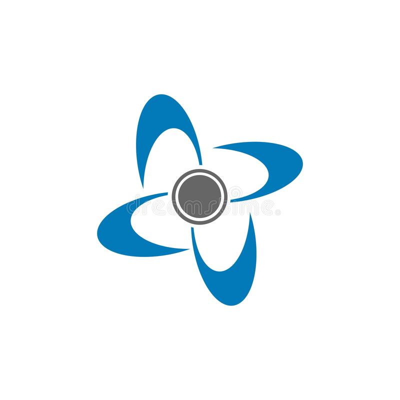 Indicación del huracán Símbolo gráfico de la advertencia del huracán Icono, muestra, bandera, indicación del huracán, vórtice, to ilustración del vector