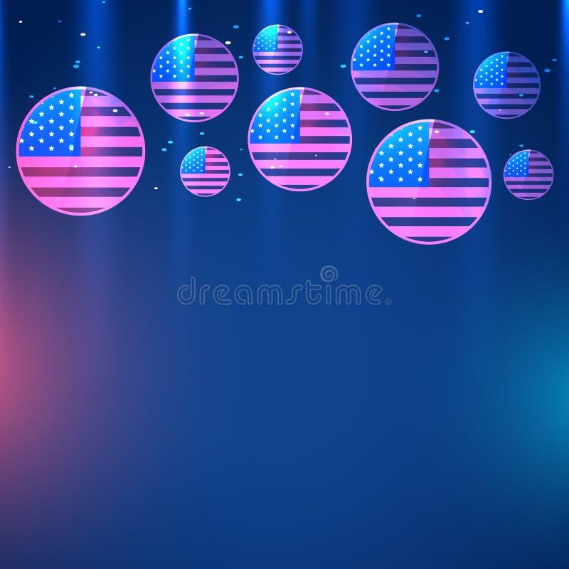 Download Indicador americano ilustración del vector. Ilustración de patriota - 41919285