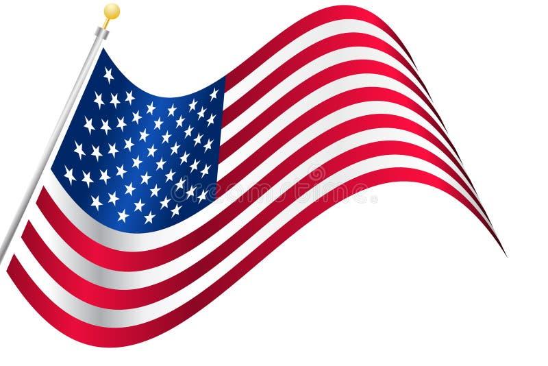 Indicador americano de los E.E.U.U. stock de ilustración