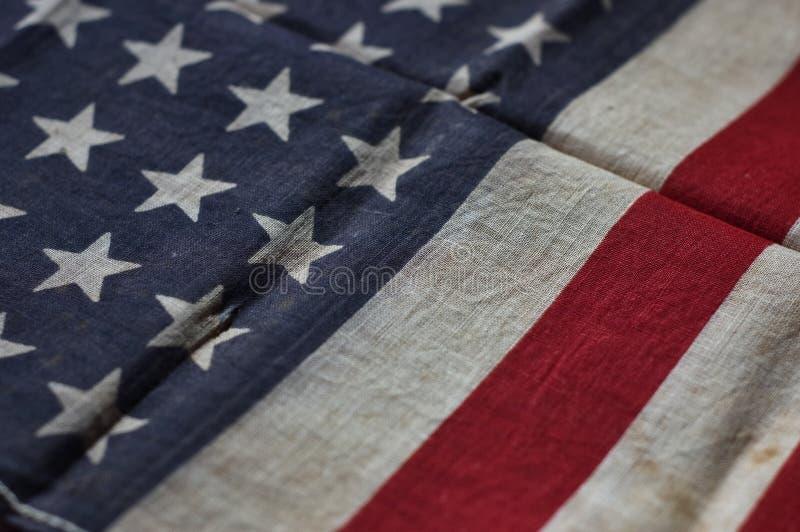 Indicador americano viejo foto de archivo libre de regalías