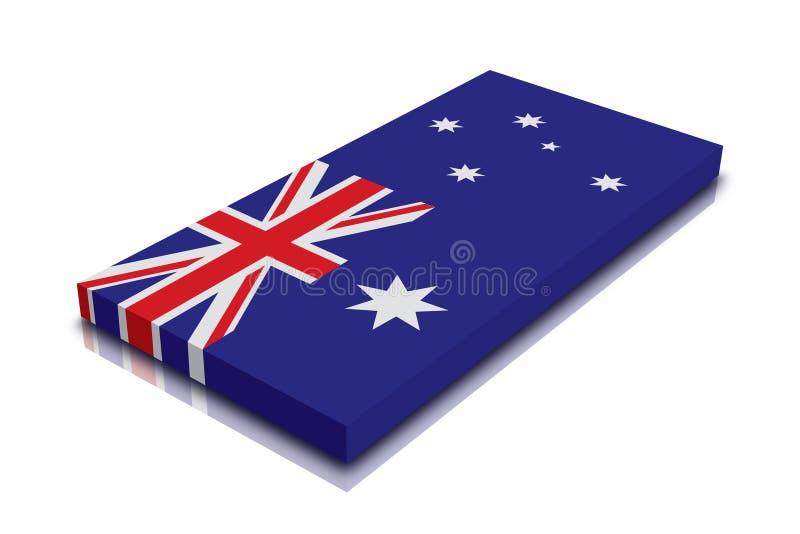 Indicador australiano stock de ilustración