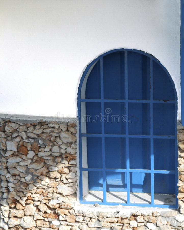 Indicador azul foto de stock
