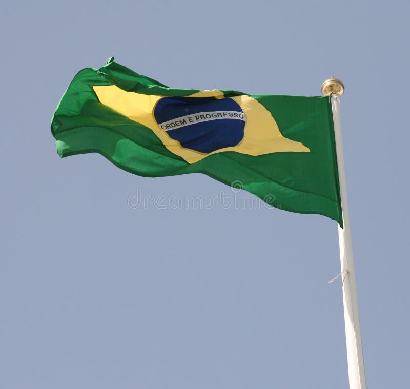 Indicador brasileño imagenes de archivo