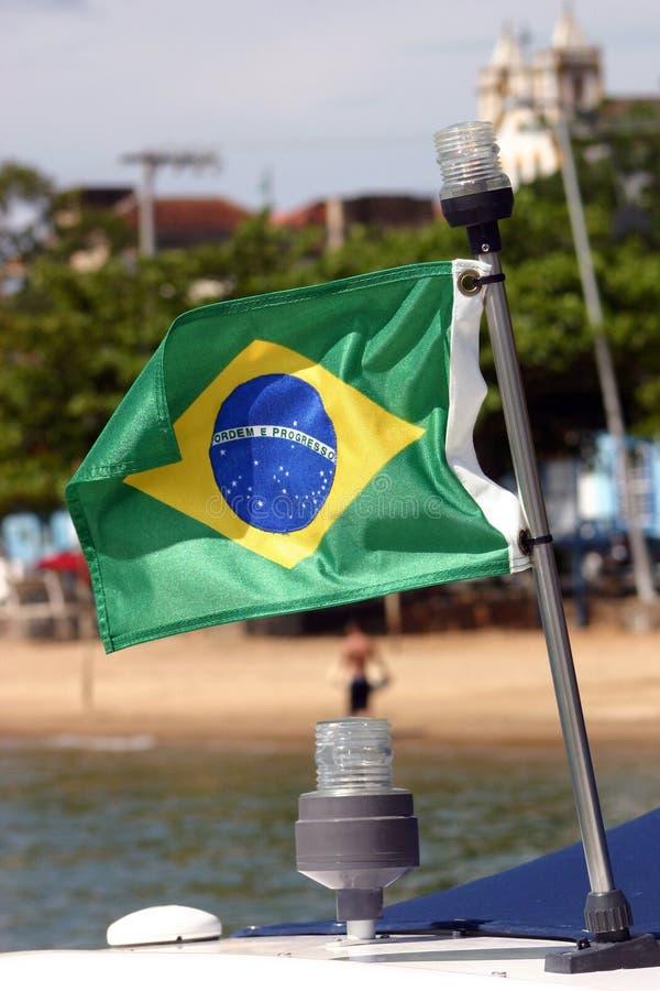 Indicador brasileño foto de archivo