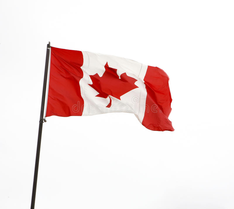 Indicador canadiense imagen de archivo