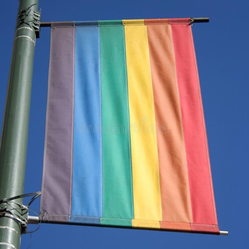 Indicador Castro del arco iris imagenes de archivo