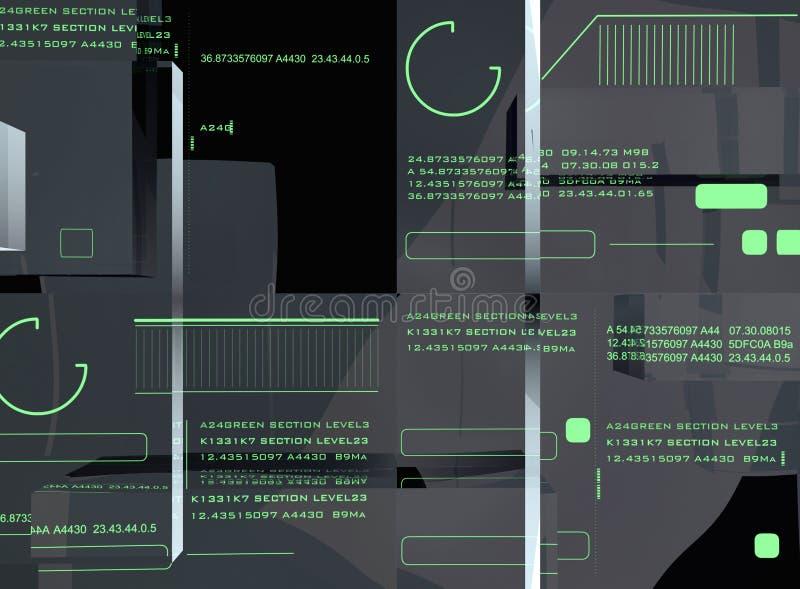Indicador da alta tecnologia ilustração do vetor