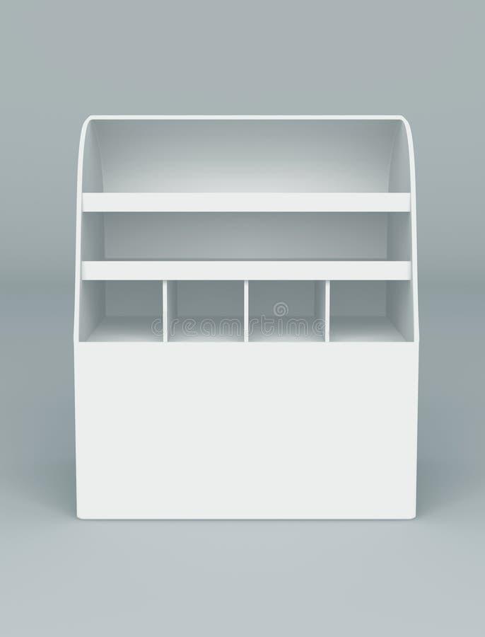 Download Indicador da caixa 3D ilustração stock. Ilustração de interior - 26518974