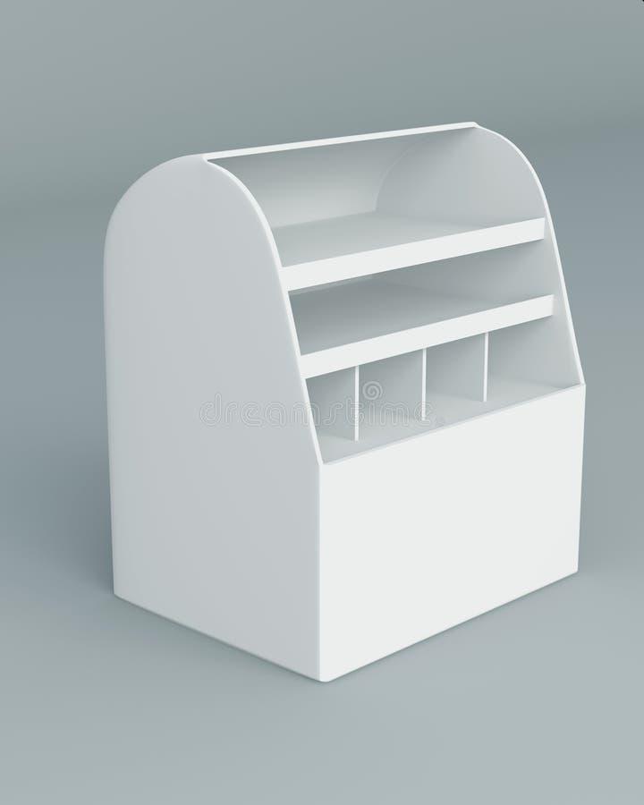 Download Indicador da caixa 3D ilustração stock. Ilustração de negócio - 26518975