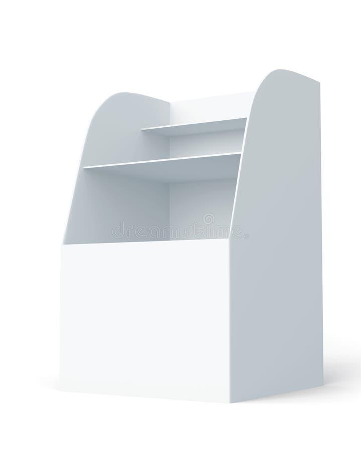 Download Indicador da caixa 3D ilustração stock. Ilustração de limpo - 26519155