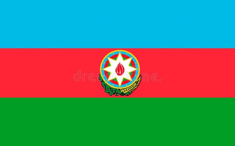 Indicador de Azerbaijan imágenes de archivo libres de regalías
