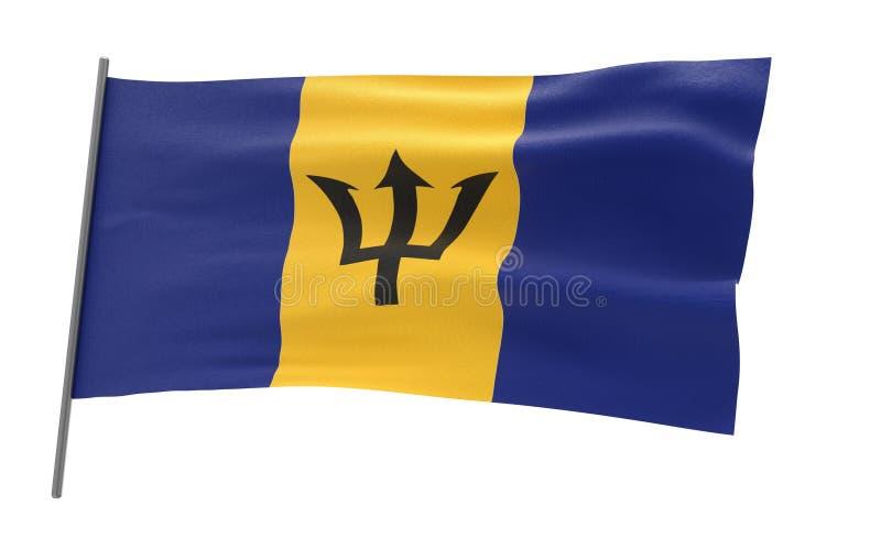 Indicador de Barbados fotografía de archivo libre de regalías
