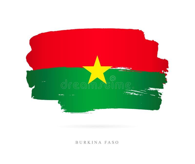 Indicador de Burkina Faso Concepto abstracto ilustración del vector