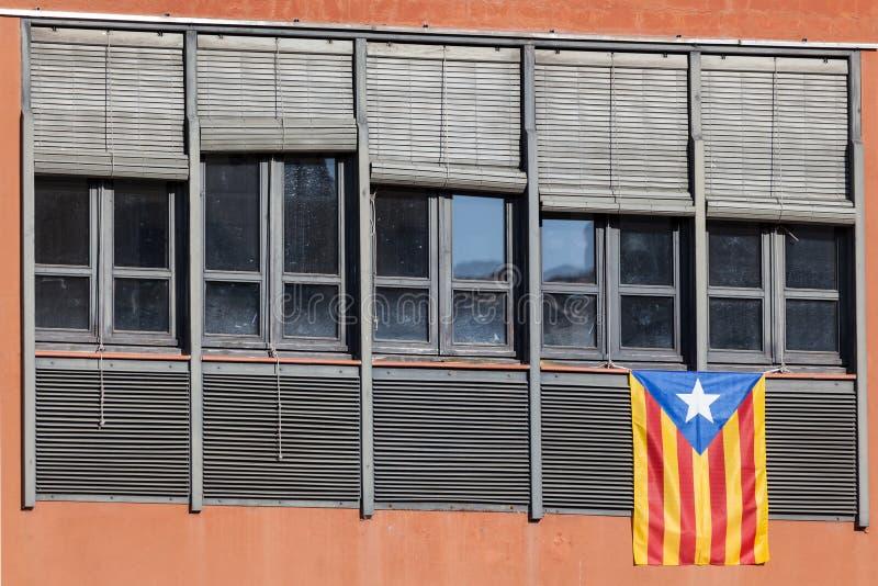 Indicador de Cataluña fotografía de archivo libre de regalías