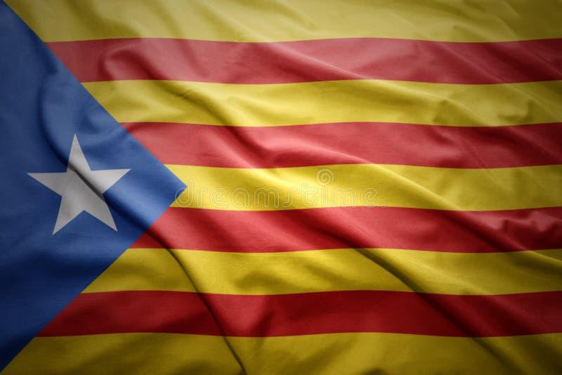 Indicador de Cataluña stock de ilustración
