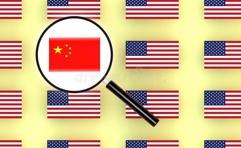 Indicador de China ilustración del vector