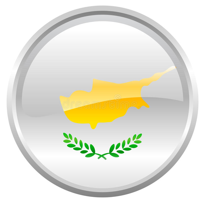 Indicador de Chipre stock de ilustración