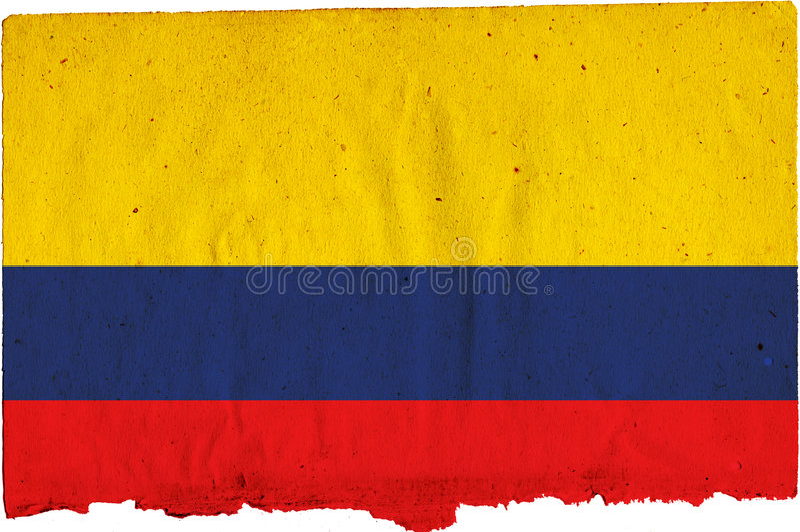 Indicador de Colombia stock de ilustración