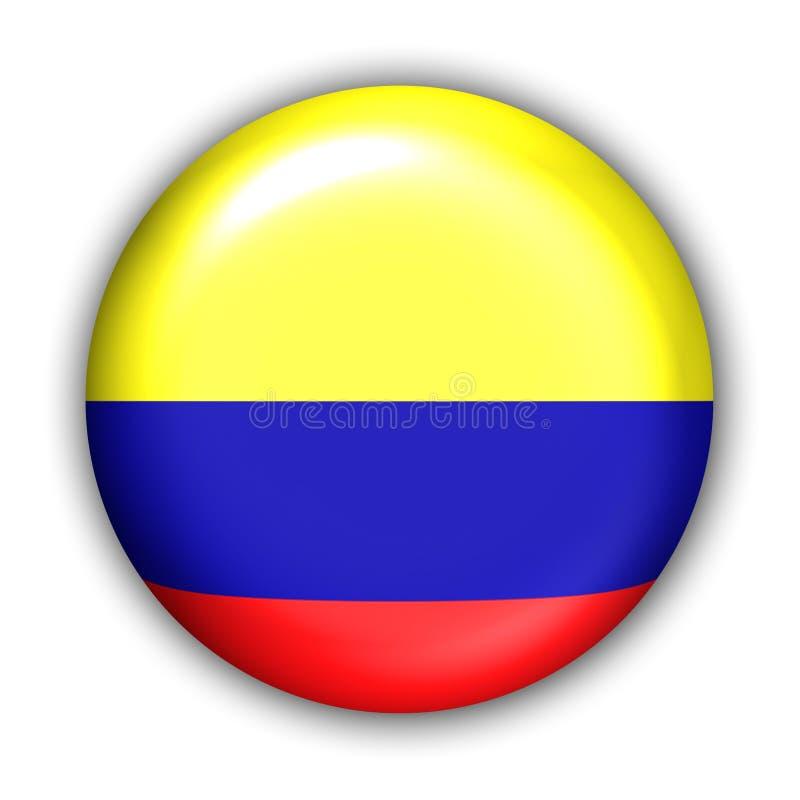 Indicador de Colombia ilustración del vector