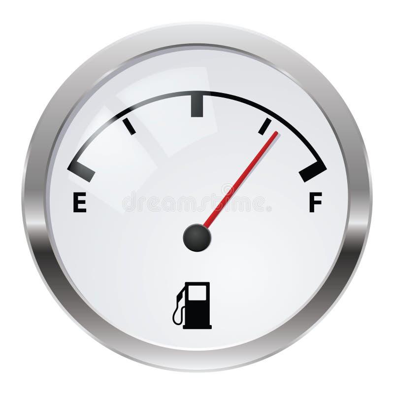 Indicador de combustível ilustração do vetor