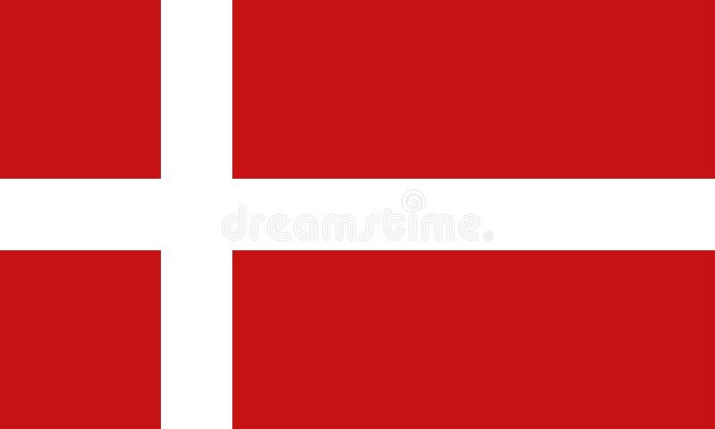 Indicador de Dinamarca stock de ilustración