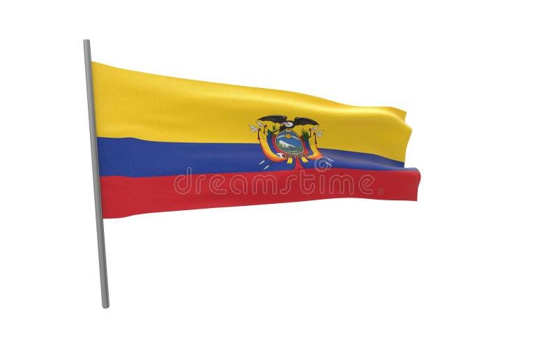 Indicador de Ecuador stock de ilustración