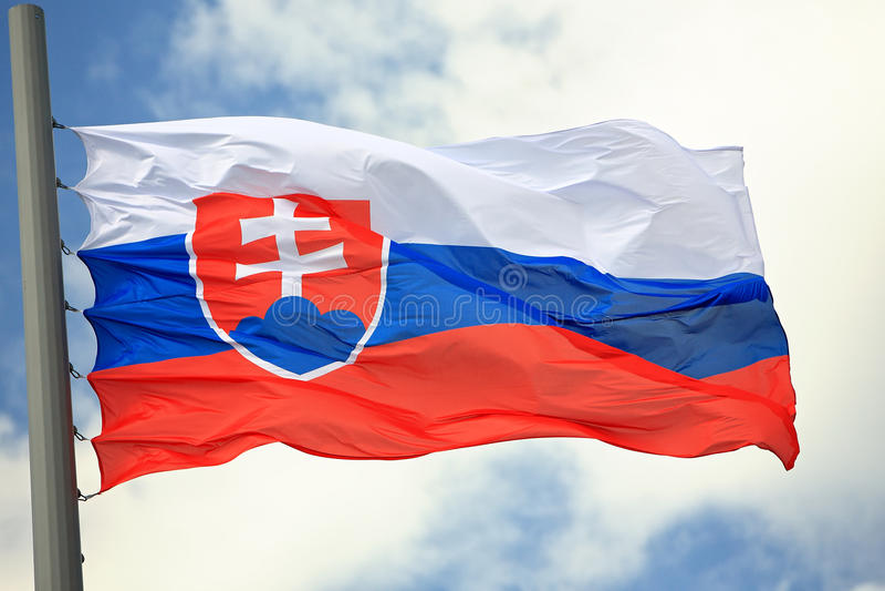 Indicador de Eslovaquia imágenes de archivo libres de regalías