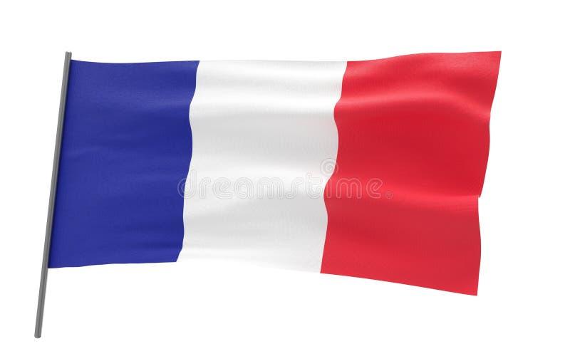 Indicador de Francia ilustración del vector