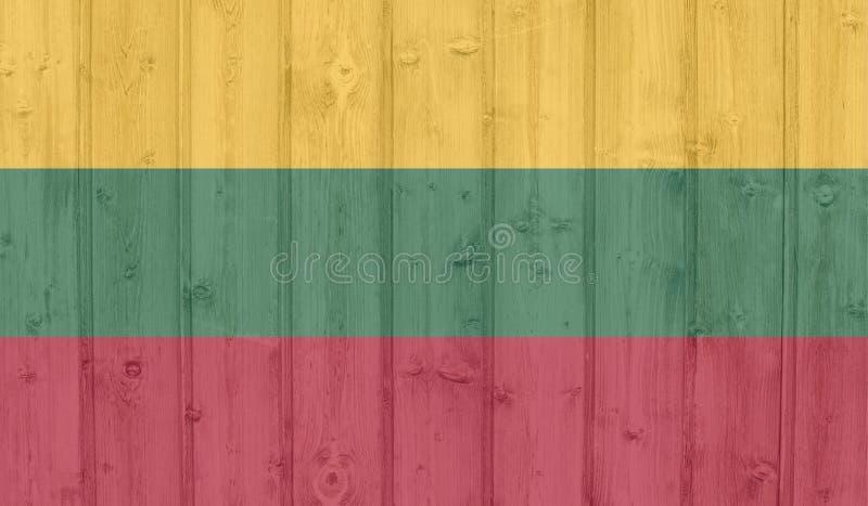 Indicador de Grunge Lituania ilustración del vector