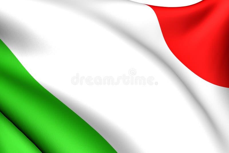 Indicador de Italia ilustración del vector