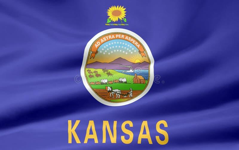Indicador de Kansas stock de ilustración