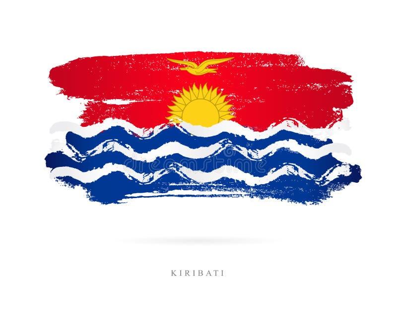 Indicador de Kiribati Concepto abstracto libre illustration