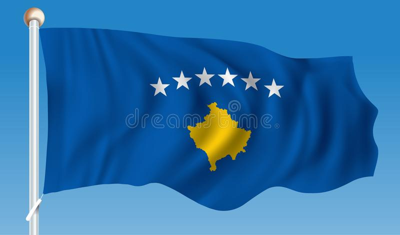 Indicador de Kosovo libre illustration