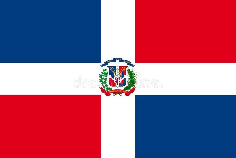 Indicador de la República Dominicana libre illustration