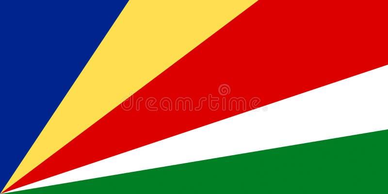 Indicador de las Seychelles imagen de archivo libre de regalías
