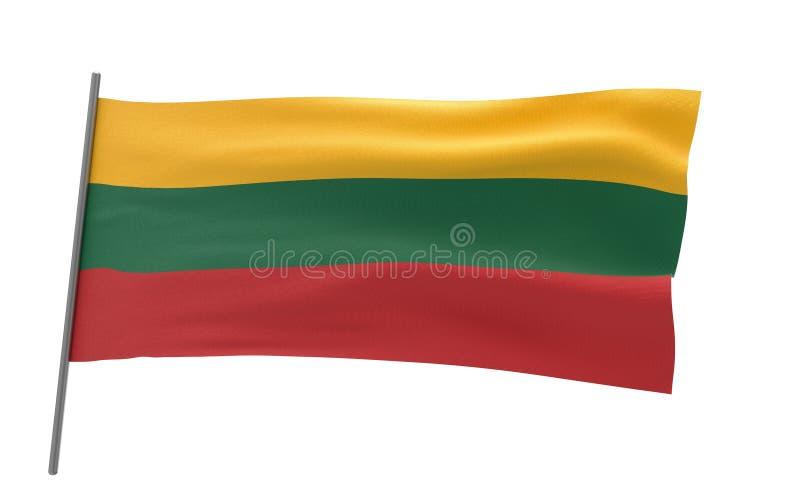 Indicador de Lituania stock de ilustración