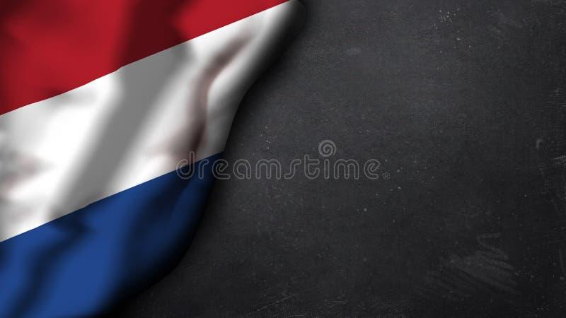 Indicador de los Países Bajos ilustración del vector