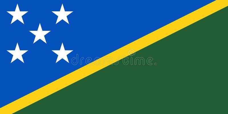 Indicador de los Solomon Island stock de ilustración