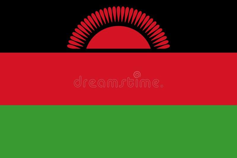 Indicador de Malawi stock de ilustración