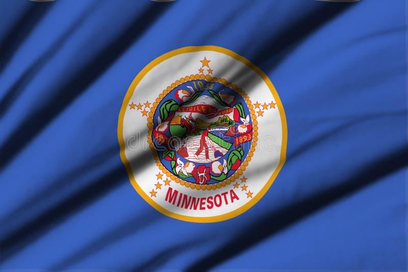 Indicador de Minnesota ilustración del vector