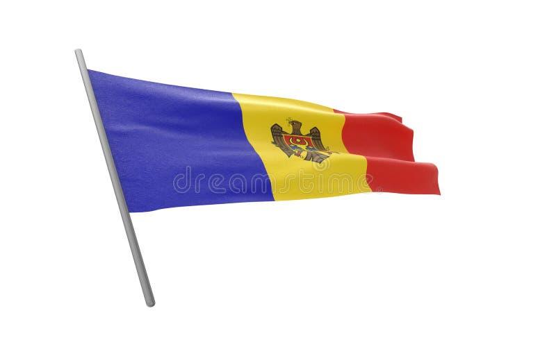 Indicador de Moldova stock de ilustración