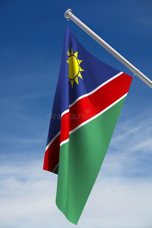 Indicador de Namibia imagen de archivo